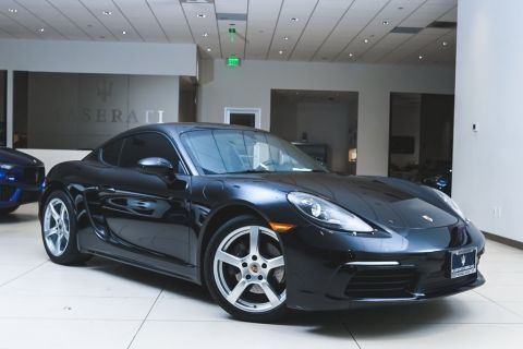 Pre-Owned 2017 Porsche 718 Cayman Base